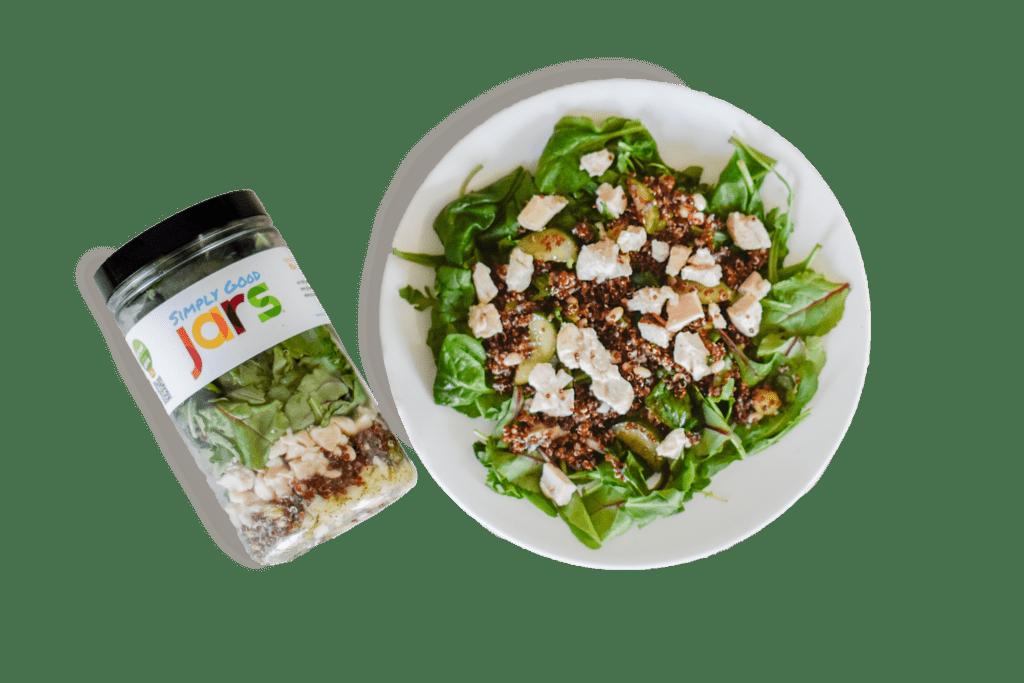 quinoa plated